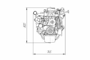 Двигатель Cummins 4ISBe
